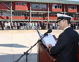 Capitán de Fragata IM Gonzalo Arredondo