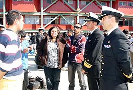 JÓVENES INICIAN SU SERVICIO MILITAR EN LOS CENTROS DE INSTRUCCIÓN DE LA ARMADA DE CHILE