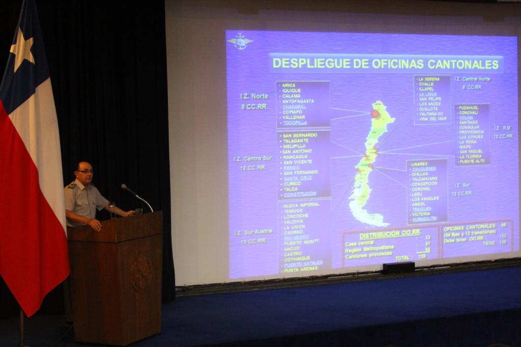 DIRECTOR DE LA DGMN EXPONE ANTE EL CURSO CONJUNTO DE LAS ACADEMIAS DE GUERRA DE LAS FUERZAS ARMADAS