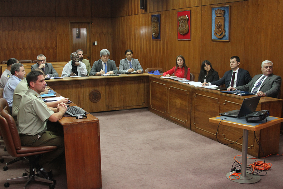 REPRESENTANTES DEL CONSEJO DE SEGURIDAD DE LAS NACIONES UNIDAS VISITAN DGMN.