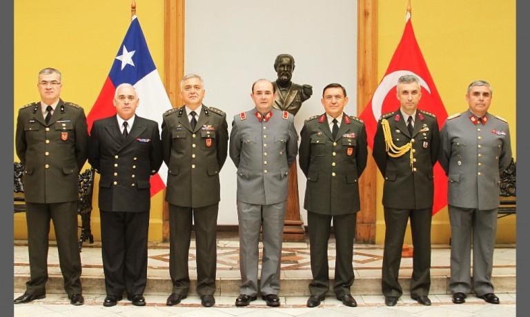 REPRESENTANTES DEL MINISTERIO DE DEFENSA DE TURQUÍA PARTICIPAN EN SEMINARIO PROFESIONAL ORGANIZADO POR LA DGMN