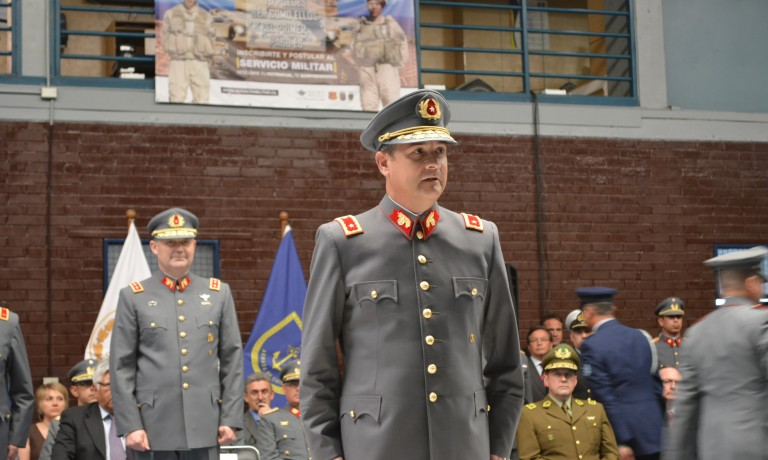 EX DIRECTOR DE LA ACAGUE, GENERAL DE BRIGADA  ESTEBAN GUARDA ASUME COMO DIRECTOR DE LA DGMN