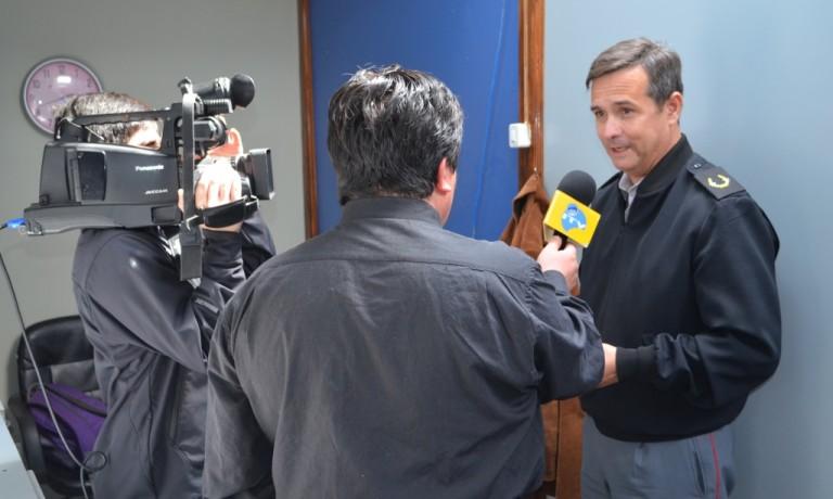 DIRECTOR GENERAL DE LA DGMN REALIZÓ VISITA PROFESIONAL A LA REGIÓN DE MAGALLANES Y ANTÁRTICA CHILENA