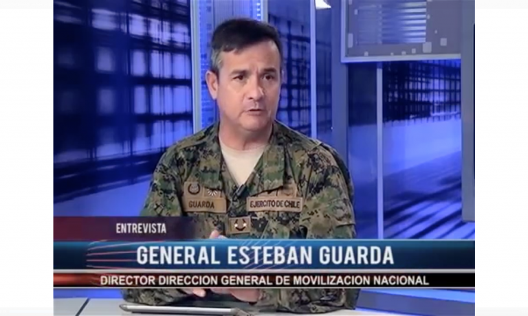 GENERAL ESTEBAN GUARDA BARROS, ENTREVISTADO EN SEXTAVISION NOTICIAS