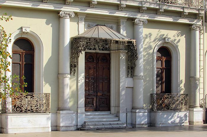 LA RUTA DE LOS PALACIOS Y LAS GRANDES CASAS DE SANTIAGO