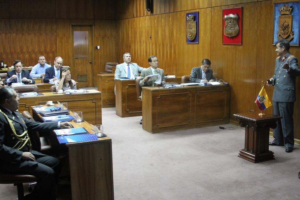 DGMN REALIZA REUNIÓN BILATERAL ENTRE CHILE Y ECUADOR
