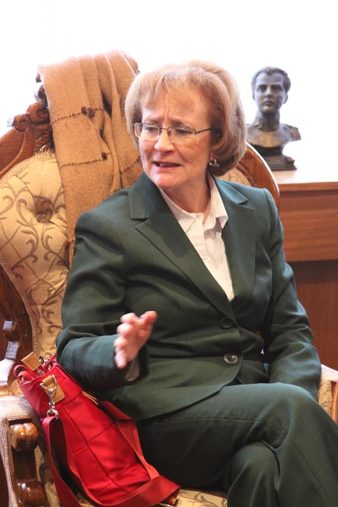 María Teresa Infante, encargada de la Misión Permanente de Chile ante la Organización para la Prohibición de Armas Químicas (OPAQ)