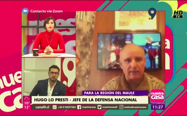 JEFE DE LA DEFENSA DEL MAULE LLAMA A JÓVENES A REALIZAR SU SERVICIO MILITAR